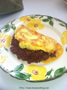 Chili Cheese Omlette
